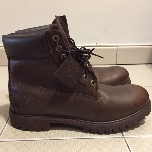 76772731f40 ... Womens; Vintage (new) brown leather timberland boots ...